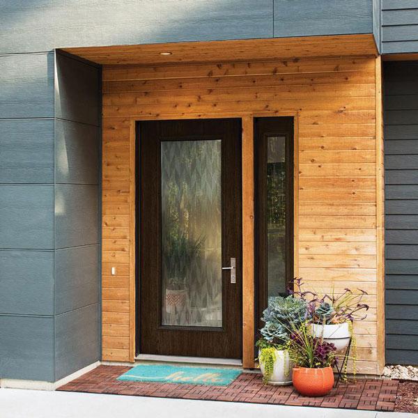 Bon ODL Door Glass, Decorative Glass For Exterior Doors, Front ...