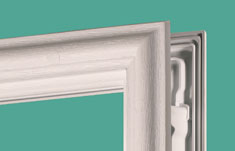 ODL Evolve HP doorglass frame reduces scalloping, corner flare, and ...