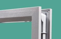 ODL Modern doorglass framing system for contemporary, modern design ...